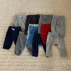 Bundle of 10 baby pants